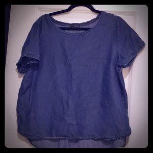 Short sleeved tunic